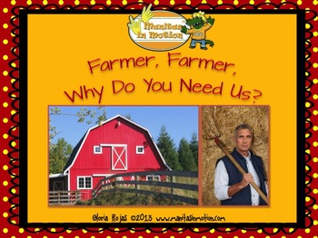 Farmer, Farmer, Why Do You Need Us? – a bilingual book, farm theme