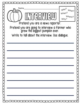 Farmer Interview: Common Core Writing Activity/Assessment/Homework with Rubric