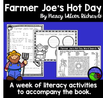 Farmer Joe's Hot Day ~ A week of reading activities