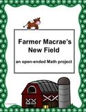 Farmer Macrae's New Field - an open-ended Math project