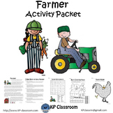 Farmer No Prep Activity Packet and Worksheets