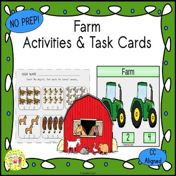 Farm Worksheets Activities Games Printables and More