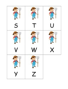 Farmer Boy Alphabet Games eBook