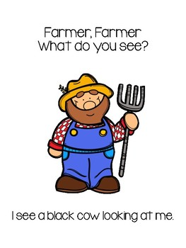 Farmer What Do You See - Teacher and Class Book