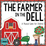 Farmer in the Dell- Musical Game- Presentation and Posters