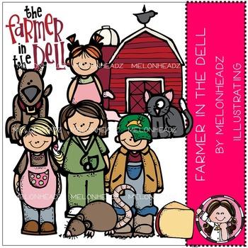Melonheadz: Farmer in the Dell clip art