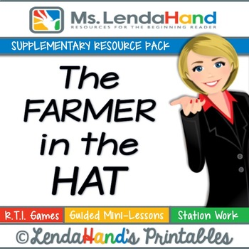 Reading Street, THE FARMER IN THE HAT, Teacher Pack by Ms.