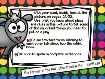 Reading Street, THE FARMER IN THE HAT, Teacher Pack by Ms. Lendahand:)