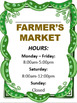 Farmer's Market Dramatic Play Resources plus LIteracy Extensions