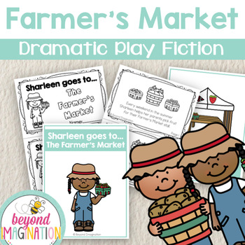 Farmer's Market Dramatic Play Fictional Booklets