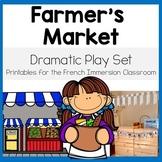 Farmer's Market Dramatic Play Printables: Le marché