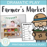 Farmer's Market Dramatic Play Set