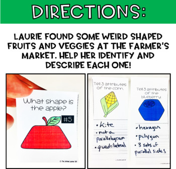 Farmer's Market Geometry Game