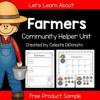 Community Helpers: Farmers Freebie