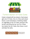 Farmers Market 10 Frame Game