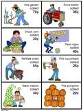 Farmers Market -- money math fun