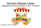 Farmers Market Braille File Folder Game