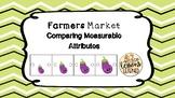 Farmers Market Comparing Measurable Attributes