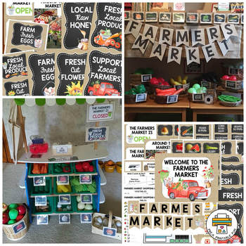 Farmers Market Dramatic Play Stand Pre-K