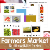 Farmers Market Nutrition and Health Printables