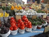 Farmers Market Produce ebook for beginning readers