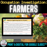 Farmers Nonfiction Reading Response Digital and Print Activities