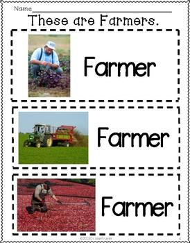 Farmers (Preschool and Kindergarten)
