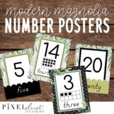 Farmhouse 0-20 Number Posters   Ten Frames   Classroom Dec
