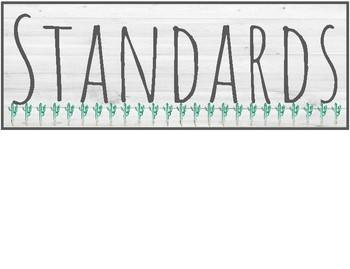 Farmhouse - Agenda, Objective, Standard