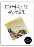Farmhouse Alphabet