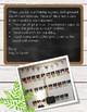 Farmhouse Alphabet Posters - White Shiplap