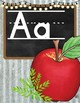 Farmhouse Alphabet Posters - Corrugated Metal