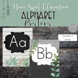 Farmhouse Alphabet Posters - Home Sweet Classroom