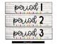 Farmhouse BRIGHTS Sterilite Drawer Labels