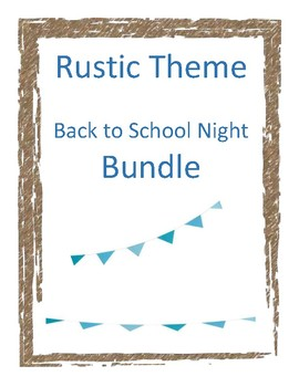 Farmhouse Form Bundle Back to School