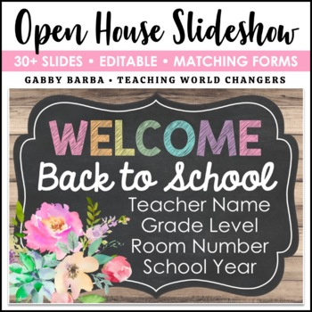 Farmhouse Back to School PowerPoint
