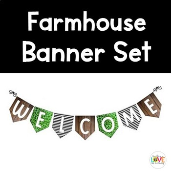 Farmhouse Banner Set