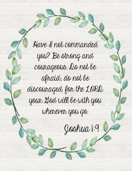 Farmhouse Bible Verses