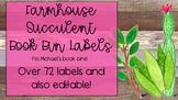 Farmhouse Bin Labels