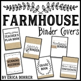 Farmhouse Binder Covers