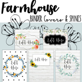 Farmhouse Binder Covers & Spines