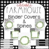 Farmhouse Binder Covers & Spines {Farmhouse Classroom Decor}