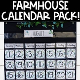 Farmhouse Calendar Pack