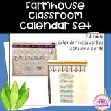 Farmhouse Calendar and Schedule Set