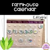 Farmhouse Calendar Set