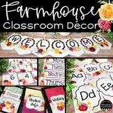 Farmhouse Chic Classroom Decor Bundle