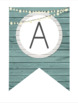 Farmhouse Chic - Create Your Own Banner - Pre-made and Ready to Print