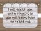 Farmhouse Chic EDITABLE Classroom Rules-Whole Brain/Love and Logic Rules
