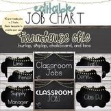 Farmhouse Chic Job Chart [EDITABLE]