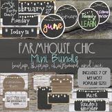 Farmhouse Chic Classroom Decor Mini Bundle